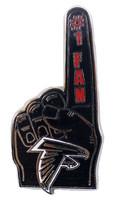 Atlanta Falcons #1 Fan Pin