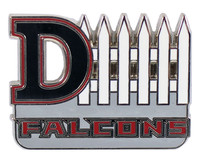 Atlanta Falcons D-Fence Pin