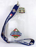 "2008 World Series Lanyard w/ Ticket Holder & ""I Was There"" Pin"