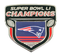 New England Super Bowl LI (51) Champions Pin -3