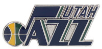 Utah Jazz Logo Pin.