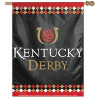 "Kentucky Derby Vertical Flag 28"" x 40"""