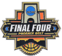 2017 Mens Final Four Logo Pin