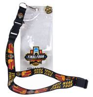 "2017 Men's Final Four Lanyard w/ Ticket Holder & ""I Was There"" Pin"