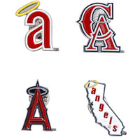 Los Angeles Angels Cooperstown Collection Pin Set