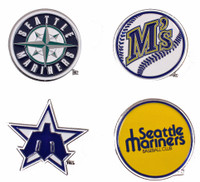 Seattle Mariners Cooperstown Collection Pin Set