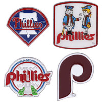 Philadelphia Phillies Cooperstown Collection Pin Set