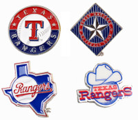 Texas Rangers Cooperstown Collection Pin Set