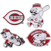 Cincinnati Reds Cooperstown Collection Pin Set