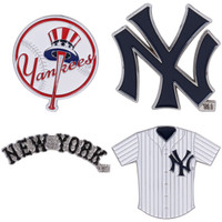 New York Yankees Cooperstown Collection Pin Set