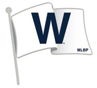 Chicago Cubs Win White Flag Pin