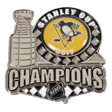 Pittsburgh Penguins 2017 Stanley Cup Champions Pin