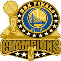 Golden State Warriors 2017 NBA Champions Pin