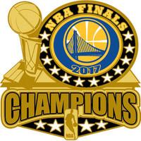Golden State Warriors 2017 NBA Champions Pin