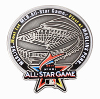 2017 MLB All-Star Game Marlins Park Commemorative Pin - Limited 2,017