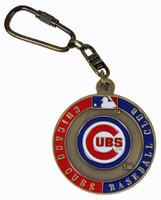 Chicago Cubs Ultimate Key Chain - Two Sided Design