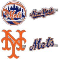 New York Mets Cooperstown Collection Pin Set