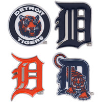Detroit Tigers Cooperstown Collection Pin Set