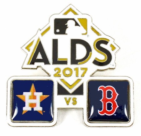 2017 ALDS Match Up Pin - Astros vs. Red Sox