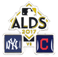 2017 ALDS Match Up Pin - Yankees vs. Indians