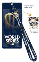 "2017 World Series Lanyard w/ Ticket Holder & ""I Was There"" Pin"