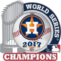 Houston Astros 2017 World Series Champions Pin