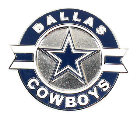Dallas Cowboys Circle & Stripes Pin