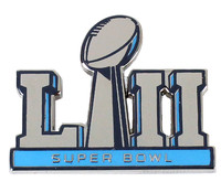 Super Bowl LII (52) Logo Pin