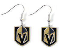 Vegas Golden Knights Logo Earrings