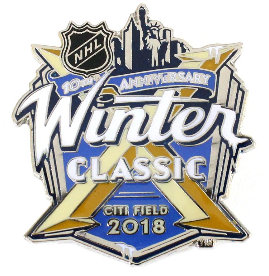 16cd40cf 2018 NHL Winter Classic Logo Pin. Loading zoom