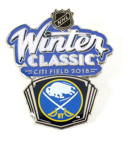 2018 NHL Winter Classic Buffalo Sabres Pin