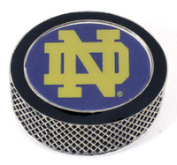 Notre Dame Hockey Puck Pin