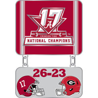 Alabama Crimson Tide 2017 College Football National Champs Dangle Pin