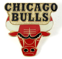 Chicago Bulls Logo Pin