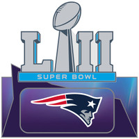 Super Bowl LII (52) New England Patriots Pin