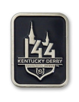 2018 Kentucky Derby 144 Logo Pin - Blue
