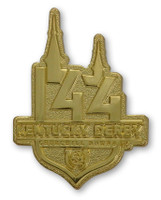 2018 Kentucky Derby 144 Logo Pin - Gold