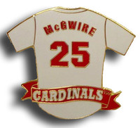 Mark McGwire Jersey Pin