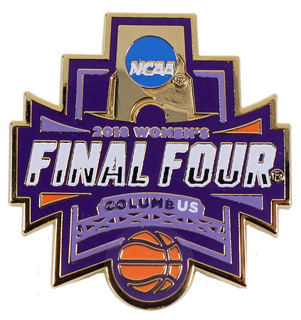 2018 Women's Final Four Logo Pin