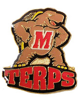 Maryland Logo Pin