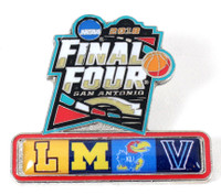 2018 Men's Final Four Dueling Teams Pin
