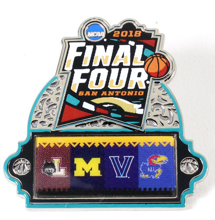 2018 Men's Final Four Dueling Schools Pin