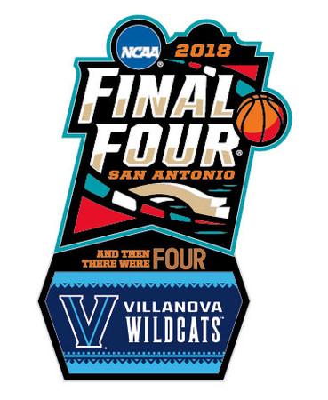 Villanova Wildcats 2018 Men's Final Four Pin