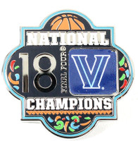 Villanova Wildcats '18 Men's Final Four Champs Pin