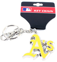 Oakland A's Key Chain