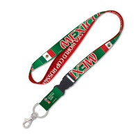 Mexico 2018 World Cup Lanyard w/ Detachable Buckle