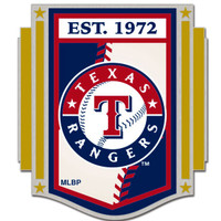 Texas Rangers Established 1972 Pin