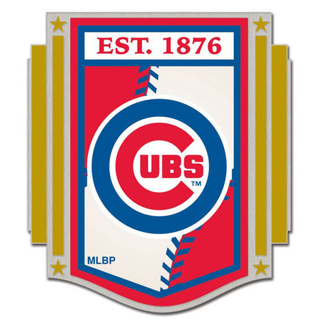 Chicago Cubs Established 1876 Pin