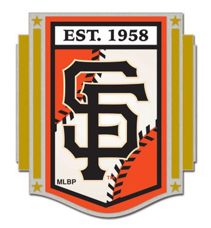 San Francisco Giants Established 1958 Pin