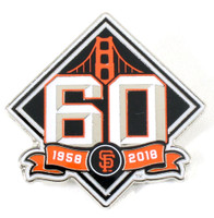 San Francisco Giants 60th Anniversary Pin - Limited Edition 500